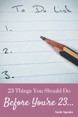 List of 23 things