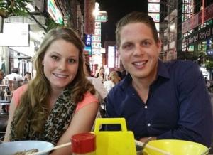 Axani and Gallagher in Bangkok