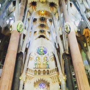 IInside La Sagrada Familia