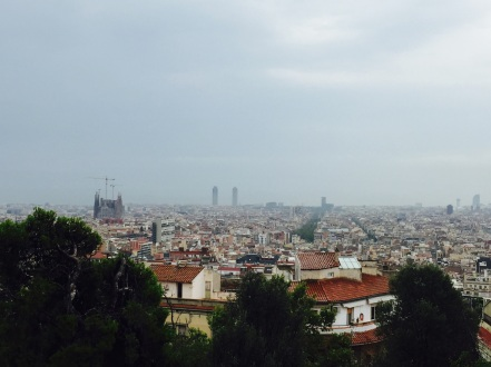 View of Barcelona from Pac Guell