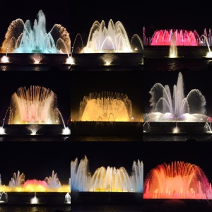 Magic Fountains of Montjuic