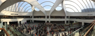 The new Grand Central in Birmingham