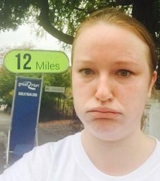 12 miles.... Ooooouuuucchh!