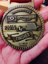 I finished! 13 miles!