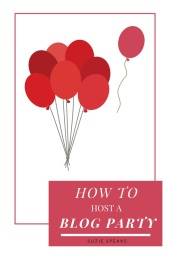 How to host a blog party