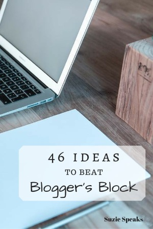 Ideas to be Blogger's block