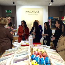 A Birmingham beauty bloggers event at Organique