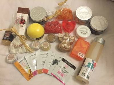 Organique beauty products