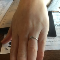 My friend's engagement ring