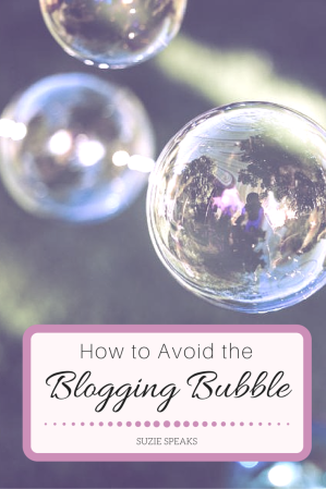 Blogging bubble