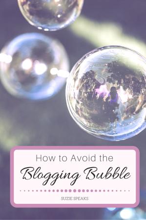 Blogging bubble