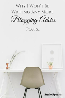 Blogging Advice Posts