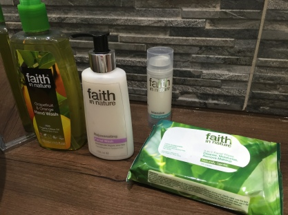 Some of the Faith in Nature products available