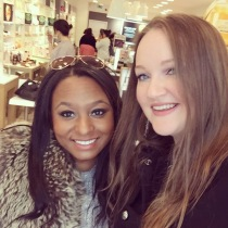 Me and Abby, the creator of The Bloggers Parlour
