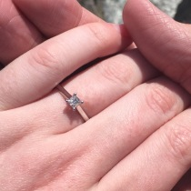 My engagement ring!