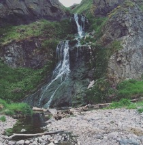 The waterfall at St Cyrus