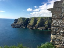 The view from Dunnottar Castle