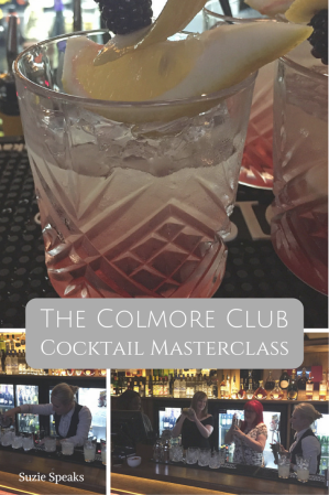 Cocktails at the Colmore club