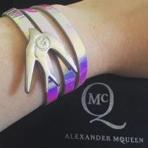 Alexander McQueen wrap bracelet