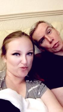 The Bloke testing his duck face instagram skills...