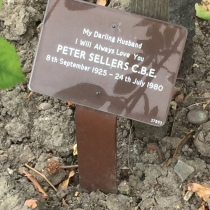 Peter Sellers's grave