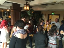 The bloggers get their mingling on!