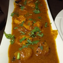 Prawn and Scallop Masala