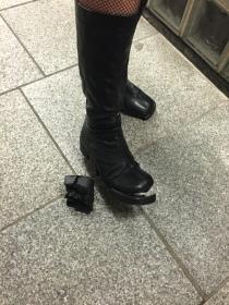 My friend's boot broke