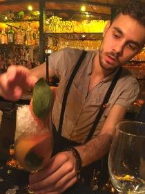 A Brummy Botanical cocktail