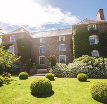 The stunning Dewsall Court