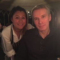 The Bloke and Ping Coombes