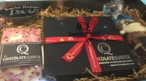 Beautiful chocolate gift set