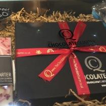 Beautiful chocolate gift set