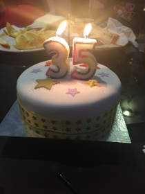 My beautiful birthday cake