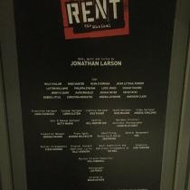 Rent cast