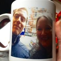My mug on a mug...