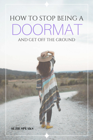 How to stop being a doormat