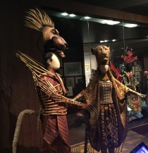Costumes from The Lion King