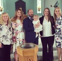 Squidge's baptism