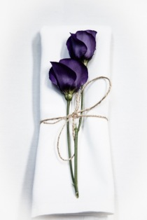 Flower napkin Wedding