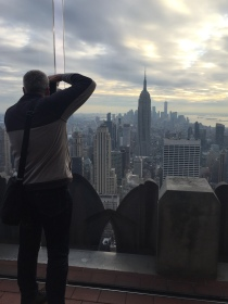 The Bloke at The Top of the Rock