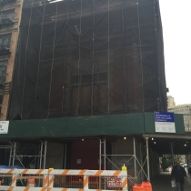 FDNY 8 - The Ghostbusters Firehouse was undergoing a complete revamp. Gutted.