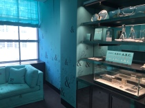 One of the smaller rooms in Tiffany's