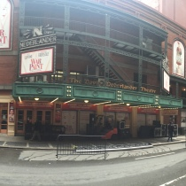 The Nederlander Theatre, original home of RENT