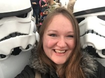 Selfies with Storm Troopers