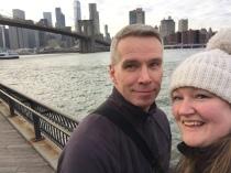Overlooking the Brooklyn Bridge, NYC