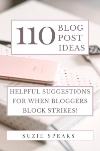 110+ blog post ideas to help when you run out of things to blog about!