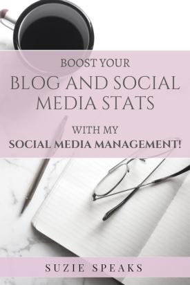 Blog and social media management services
