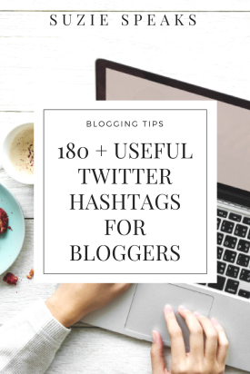 Useful twitter hashtags for bloggers