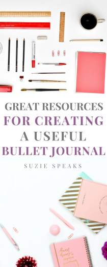 Creat resources for creating a useful bullet journal